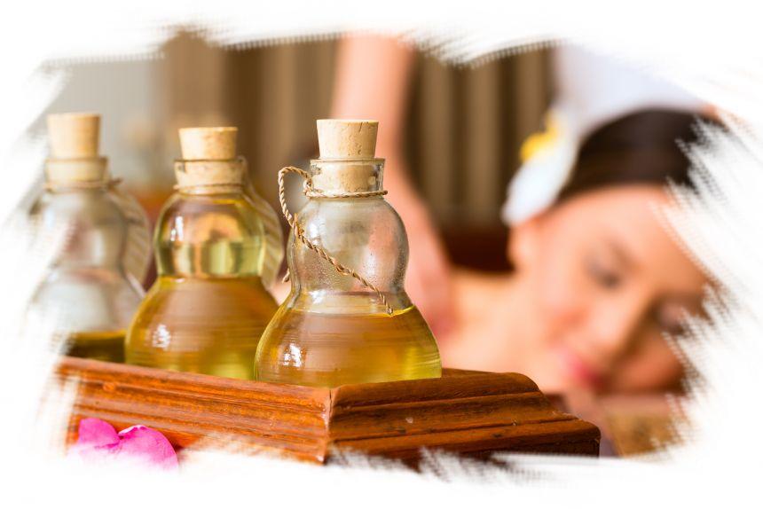 soins du corps aux huiles sur segré